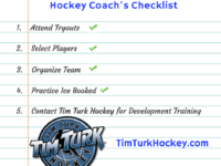 Hockey Coach's Checklist